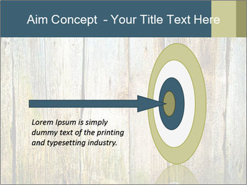 Wood planks PowerPoint Templates - Slide 83
