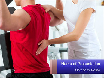 Physiotherapy PowerPoint Template
