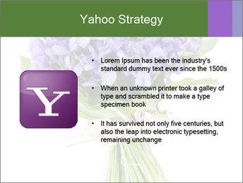 Flowers iris PowerPoint Template - Slide 11
