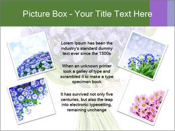 Flowers iris PowerPoint Template - Slide 24