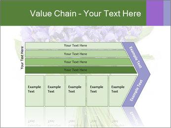 Flowers iris PowerPoint Template - Slide 27