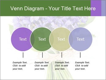 Flowers iris PowerPoint Template - Slide 32