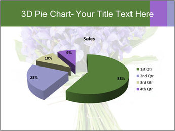 Flowers iris PowerPoint Template - Slide 35