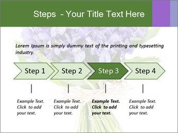 Flowers iris PowerPoint Template - Slide 4