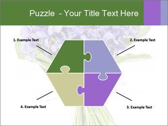 Flowers iris PowerPoint Template - Slide 40