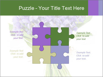 Flowers iris PowerPoint Template - Slide 43