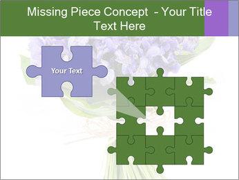 Flowers iris PowerPoint Template - Slide 45