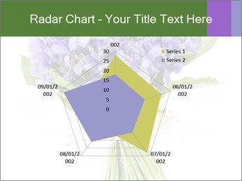 Flowers iris PowerPoint Template - Slide 51