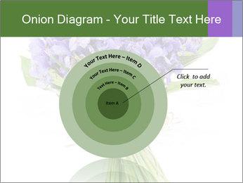 Flowers iris PowerPoint Template - Slide 61