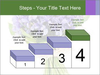 Flowers iris PowerPoint Template - Slide 64
