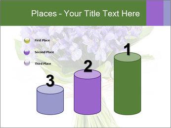 Flowers iris PowerPoint Template - Slide 65