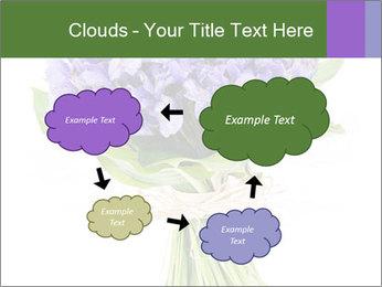 Flowers iris PowerPoint Template - Slide 72