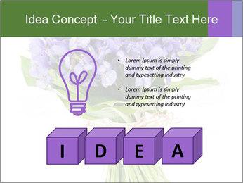 Flowers iris PowerPoint Template - Slide 80