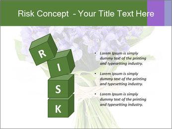 Flowers iris PowerPoint Template - Slide 81