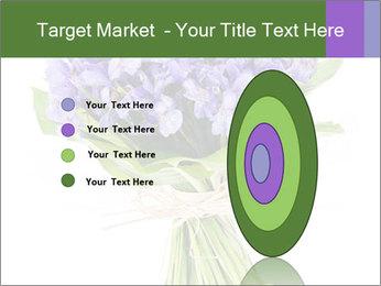 Flowers iris PowerPoint Template - Slide 84