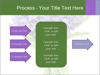 Flowers iris PowerPoint Template - Slide 85