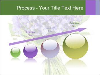 Flowers iris PowerPoint Template - Slide 87