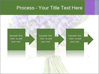 Flowers iris PowerPoint Template - Slide 88