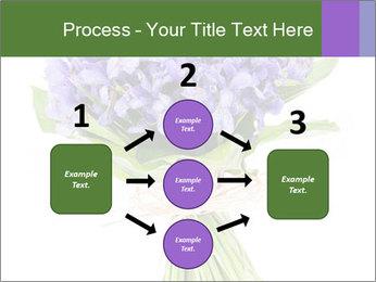 Flowers iris PowerPoint Template - Slide 92