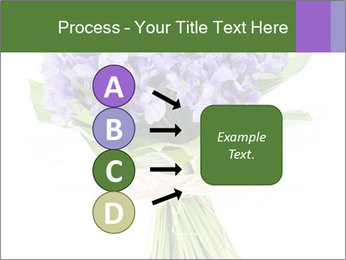 Flowers iris PowerPoint Template - Slide 94