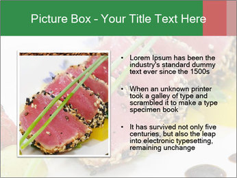 Tuna fillet PowerPoint Template - Slide 13