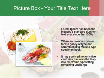 Tuna fillet PowerPoint Template - Slide 20