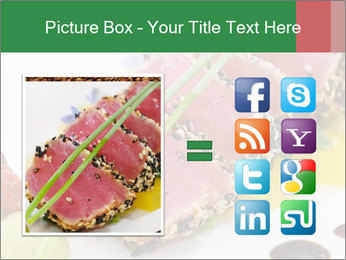 Tuna fillet PowerPoint Template - Slide 21