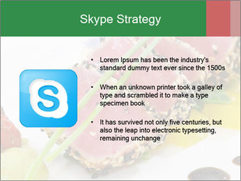 Tuna fillet PowerPoint Template - Slide 8