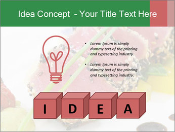 Tuna fillet PowerPoint Template - Slide 80