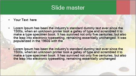 Tuna fillet PowerPoint Template - Slide 2