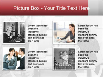 Woman eating meal PowerPoint Template - Slide 14