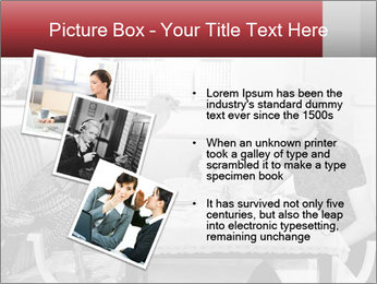Woman eating meal PowerPoint Template - Slide 17