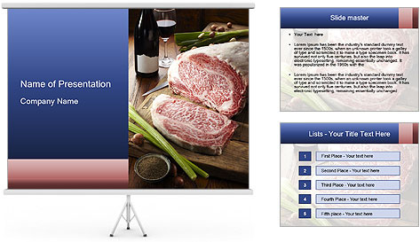 Beef PowerPoint Template