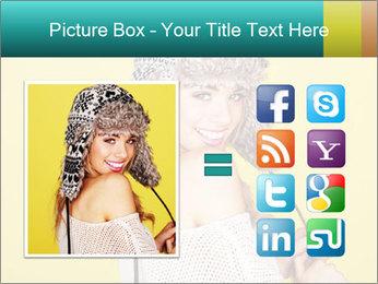 Winter hat PowerPoint Templates - Slide 21