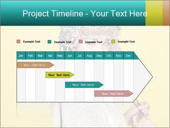 Winter hat PowerPoint Templates - Slide 25