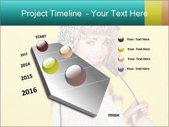 Winter hat PowerPoint Templates - Slide 26