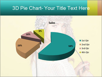 Winter hat PowerPoint Templates - Slide 35