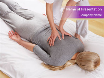 Massage PowerPoint Template