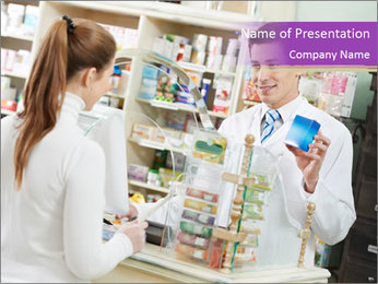 Pharmacy PowerPoint Templates - Slide 1