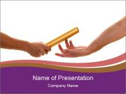 Baton PowerPoint Template