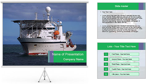 Ship PowerPoint Template