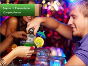 Cocktails PowerPoint Templates