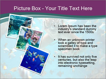 Brain coral PowerPoint Templates - Slide 17