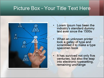 Business Woman PowerPoint Template - Slide 13