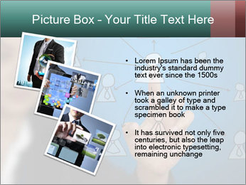 Business Woman PowerPoint Template - Slide 17