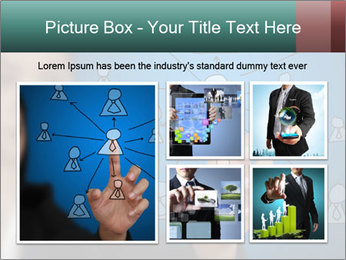 Business Woman PowerPoint Template - Slide 19