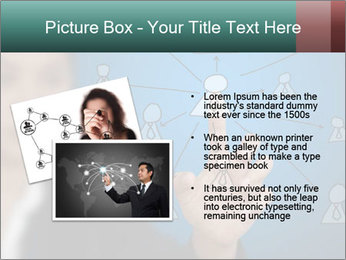 Business Woman PowerPoint Template - Slide 20