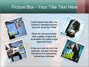 Business Woman PowerPoint Template - Slide 24