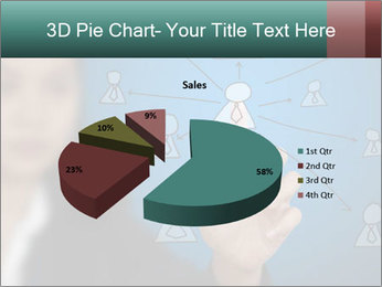 Business Woman PowerPoint Template - Slide 35