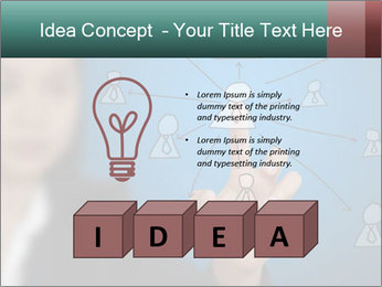 Business Woman PowerPoint Template - Slide 80